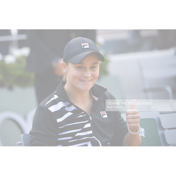 Roland Garros 2019 Ashleigh Barty (AUS) is the 2019 French Open Champion after defeating Marketa Vondrousova 61 63 in the final. Photo© Ray Giubilo