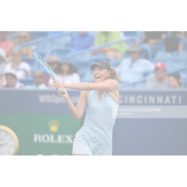 2019 W&S Cincinnati Open Maria Sharapova (RUS) Photo© Ray Giubilo