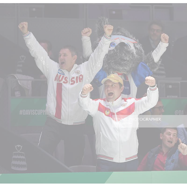 2019 DAVIS CUP FINALS by Rakuten SPAIN vs RUSSIA Photo © Ray Giubilo 2019